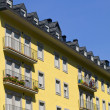 Stock Photo: Yellow apartments