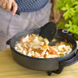 Cooking Paella — Stock Photo #3195032