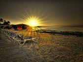 Sunrise in Costa Calma, Fuerteventura, Spain — Stock Photo