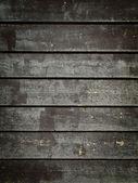 Black Grunge Wood Panels — Stock Photo