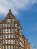 Architecture typique d'amsterdam — Photo