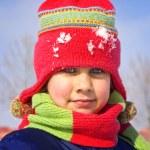 holčička ve sněhu — Stock fotografie #3252245