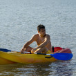 Kayaking in the lake — Stock Photo #3252624