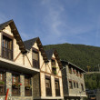 Stock Photo: Rural apartments in beautiful village of Ordino, Andorra