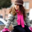 móda dívka — Stock fotografie