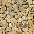 Wall of stones - Stock Photo