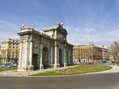 Alcala Gate in Madrid — Stock Photo