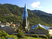 Modern Building in Andorra — Stock Photo