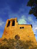 Romanesque Church — Stockfoto
