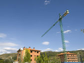 Cronstruction Crane — Stock Photo