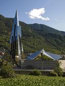 Modern Building in Andorra — Stock Photo