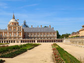 Královský palác aranjuez — Stock fotografie