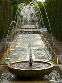 Pond Fountain in the Mallorca Cathedral — Stock Photo