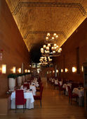 Medieval Restaurant — Stock Photo