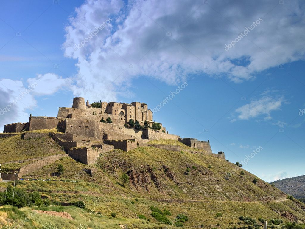 Cardona Spain  City pictures : Cardona Castle, Spain — Stock Photo © SOMATUSCANI #3253023