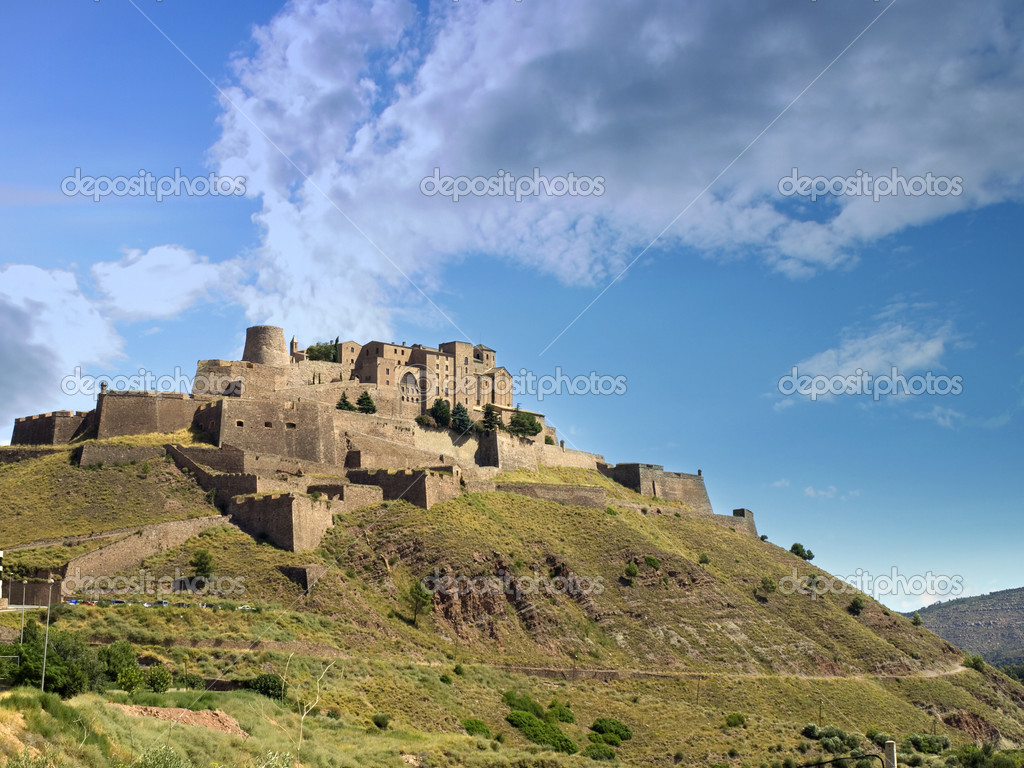 Cardona Spain  city photos gallery : Cardona Castle, Spain — Stock Photo © SOMATUSCANI #3253023