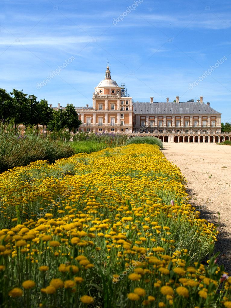 Royal Palace of Aranjuez  Stock Photo #3253396