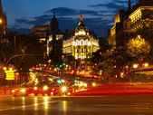 Madrid By Night — Stock Photo