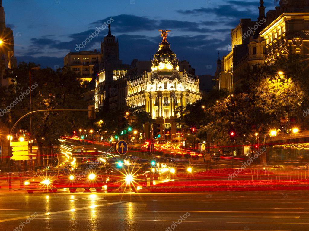 Madrid By Night — Stock Photo © SOMATUSCANI #3281627