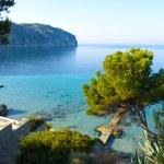 Camp de Mar Beach, Mallorca — Stock Photo