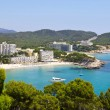 Paguera Beach, Mallorca - Stock Photo