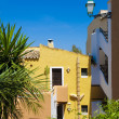 Stock Photo: Colorful Apartments in Majorca