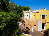 Colorful Apartments in Majorca — Stock Photo
