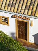 Apartamentos coloridos em Maiorca — Fotografia Stock