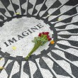 Stock Photo: Strawberry Fields Memorial