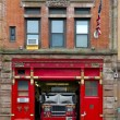 Fire Station in Manhattan — Stock Photo #3849652