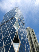 Modern Building in Manhattan — Stock Photo