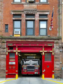 Fire Station in Manhattan — Stock Photo