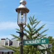 Royalty-Free Stock Photo: Monument Ave. Signal, Boston