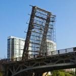 Working on the Bascule Bridge — Stock Photo #3854579