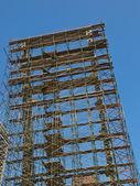 Bygga en skyskrapa — Stockfoto