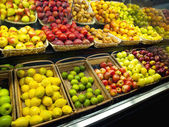 Fresh Fruits in the market — Photo
