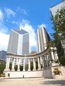 Millennium Monument in Wrigley Square, Chicago — Stock Photo