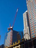 Building a Skyscraper — Stock Photo