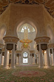 Moschee mit Teppich in Abu Dhabi — Stock Photo