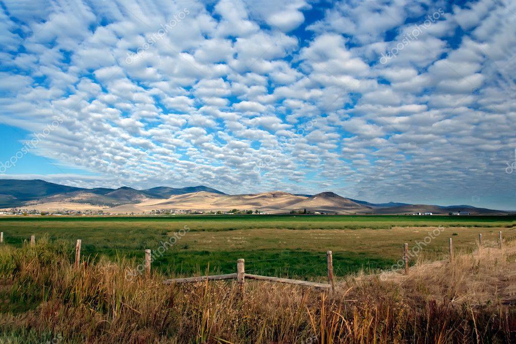 Landschaft In Montana Big Sky Country Stock Photo Fisfra 3079348