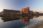 Factory at Rheinhafen, Karlsruhe, Germany — Stock Photo