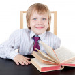 Boy with book — Stock Photo #3303302