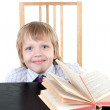 Boy with book — Stock Photo #3303305