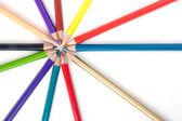 Colour pencils — ストック写真