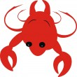 Small crab - Stock Vector