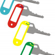 Set of keys — Image vectorielle