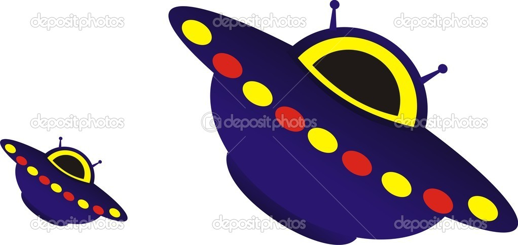 UFO. Extraterrestrial civilizations — Stock Vector #3809547