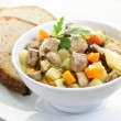 Bowl of beef stew - Stock Photo