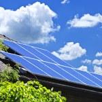 Solar panels — Stock Photo #4465190