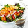 Garden salad - Stock Photo